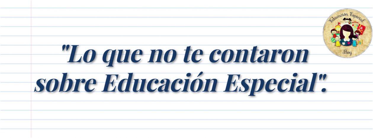 Educación Especial Hoy